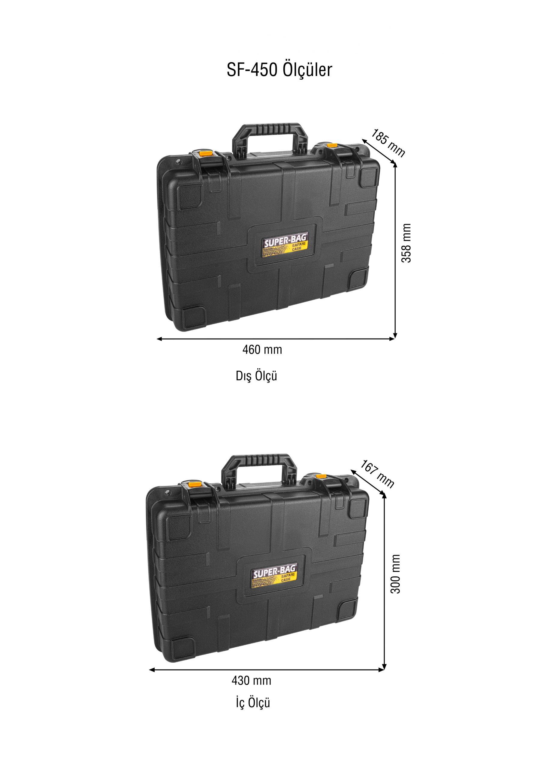 Safari Case Takım Çantası Süngerli 450s- SF 450S