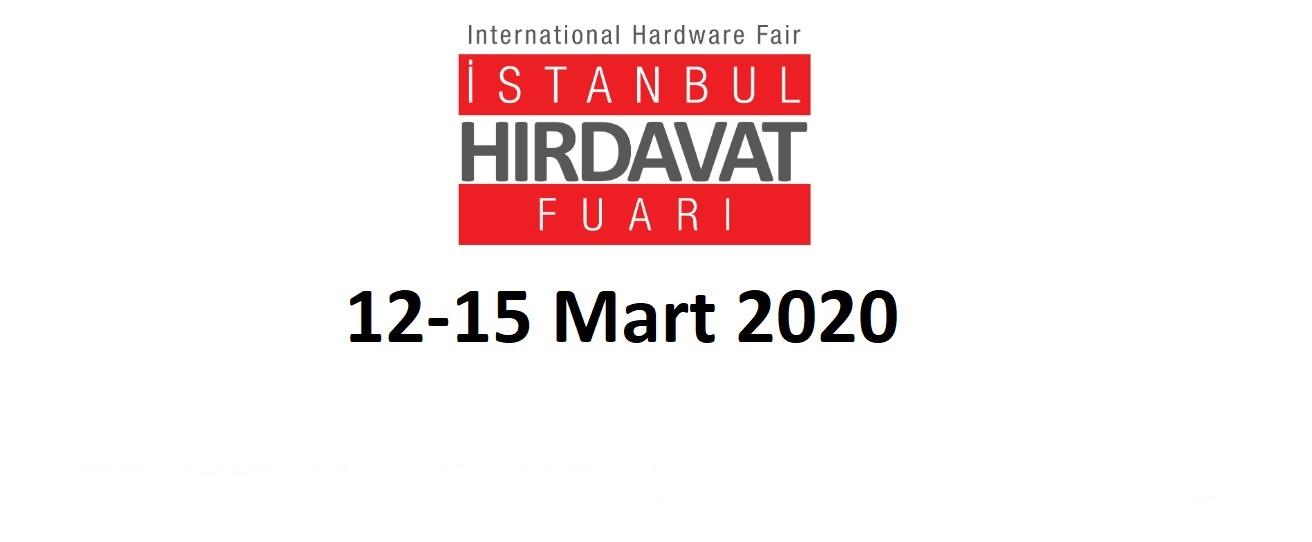 İstanbul Hırdavat Fuarı 12-15 Mart 2020