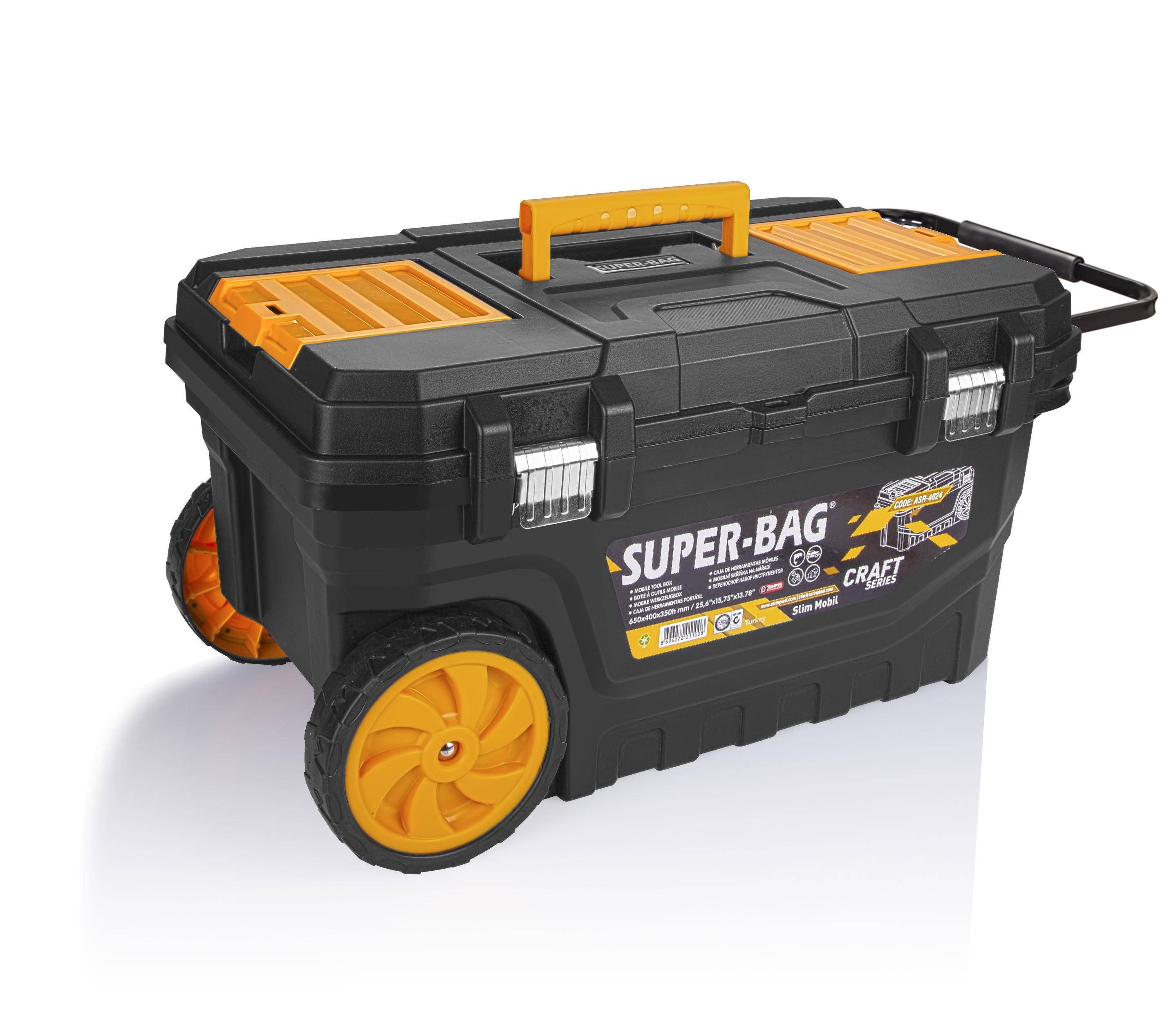 Yeni Tekerlekli Çanta; Slim Mobil