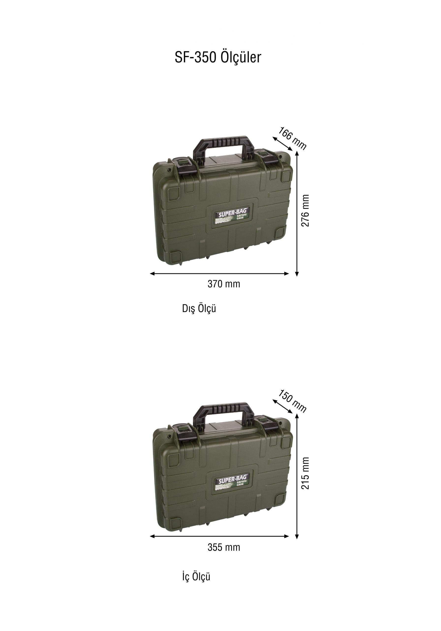 Safari Case Takım Çantası Süngerli SF-350