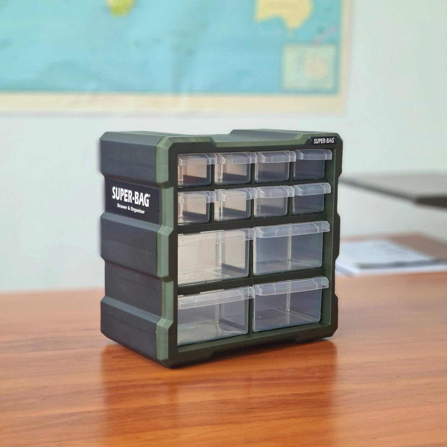 12'li Küçük Monoblok Çekmece Seti  ASR-6007