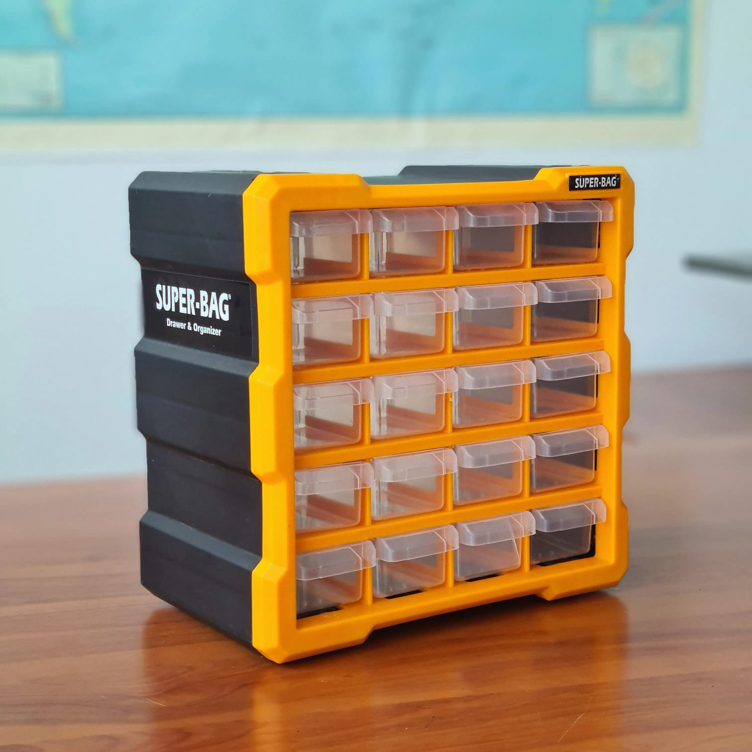 20'li Küçük Monoblok Çekmece Seti  ASR-6006